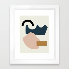 Shape Study #29 - Lola Collection Framed Art Print