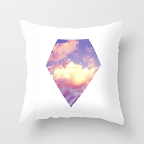 Cloudscape IV Throw Pillow