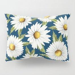 Chamomile field (blue) Pillow Sham