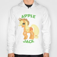 mlp Hoodies featuring MLP FiM: Applejack by Yiji