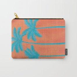 Turquoise Palms Carry-All Pouch