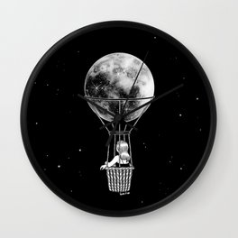 Night Flight Wall Clock