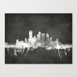 Pittsburgh Pennsylvania Skyline Canvas Print