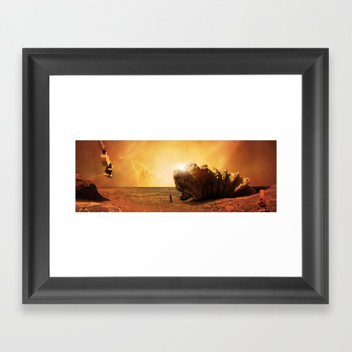 Shai-Hulud Framed Art Print