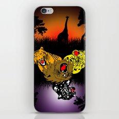 Big Cat Safari iPhone & iPod Skin