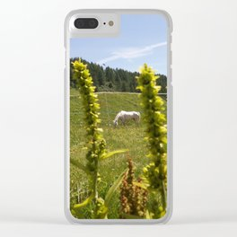 That White Horse Clear iPhone Case