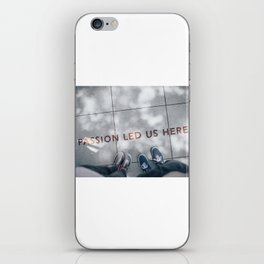 Passion Quote iPhone Skin
