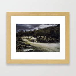 Riverfall Framed Art Print
