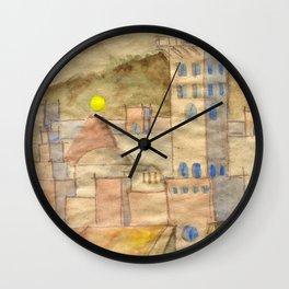 On North... Wall Clock