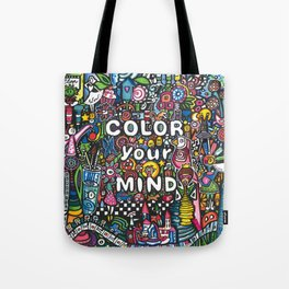 color your mind by Astorg Audrey Tote Bag