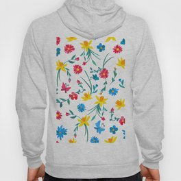 Coloful flowers Hoody
