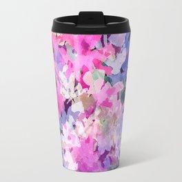 Rose and Indigo Garden Travel Mug