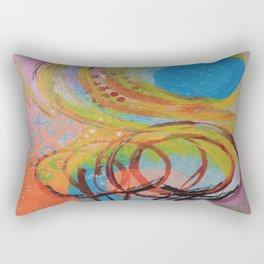 A Sunny Day Rectangular Pillow