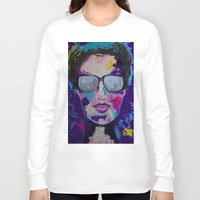 sunglasses Long Sleeve T-shirts featuring Sunglasses by Wendistry