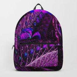 Purple Tsunami Backpack