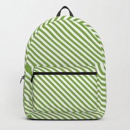 Greenery Stripe Backpack