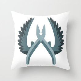 Anti-Terrorist Throw Pillow