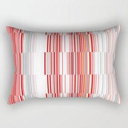 House 8 New Lines Rectangular Pillow