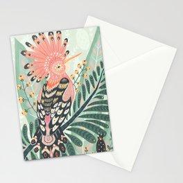 Hoopoe Bird Stationery Cards