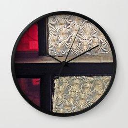 Window Glass Wall Clock