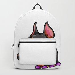Doberman Pinscher Dog Puppy Present Dobermann Backpack