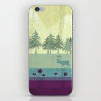 wildlife iPhone & iPod Skins featuring Wildlife by Kakel