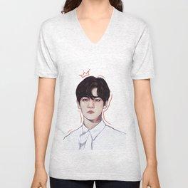 Prince Baekhyun   EXO Unisex V-Neck