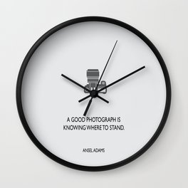 A good photograph Wall Clock