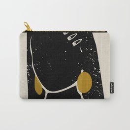 Black Hair No. 3 Carry-All Pouch