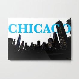 Chi-Town Metal Print