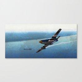 Mustang P51D Canvas Print