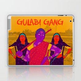 Gulabi Gang Laptop & iPad Skin