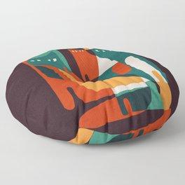 Cat Family Floor Pillow
