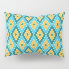 Diamond Pattern in Tropical Colours Pillow Sham