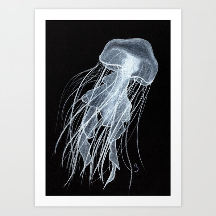 In Dark Water Art Print