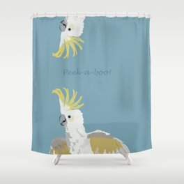 Peek-a-boo! Shower Curtain