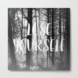 Forest - Lose Yourself Metal Print