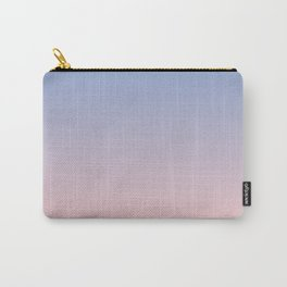 Ombre | Serenity and Rose Quartz | Pantone Colors of the Year 2016 Carry-All Pouch
