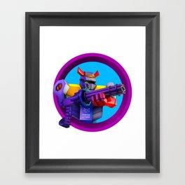 Empire of Code - heavy Framed Art Print