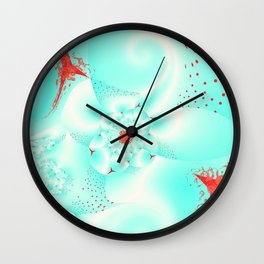 Igniting Cloud 9 Wall Clock