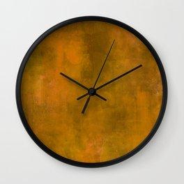 GOLD! Wall Clock