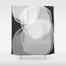 Colorblind Opal  Shower Curtain