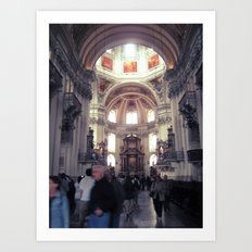 St. Peter's Church (Austria) Art Print