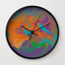 Baby Graffiti Wall Clock