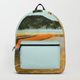 Yellowstone National Park, USA Travel Artwork Backpack
