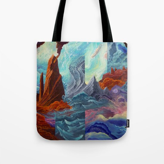 Transition Point Tote Bag