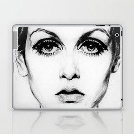60's Eyelashes Laptop & iPad Skin