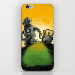 Love is Toast iPhone Skin