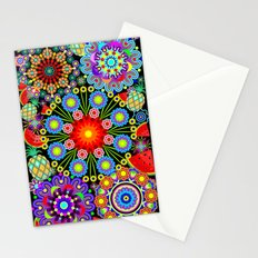 Mandalas & Exotic Fruits Pattern Stationery Cards