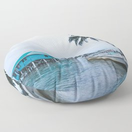 Island Retreat Floor Pillow